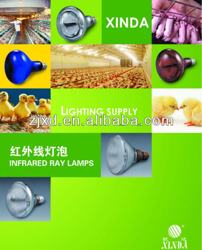 Infrared Heating Lamp 110v/220v 40w/150w/250w/300w/500w/1000w ...