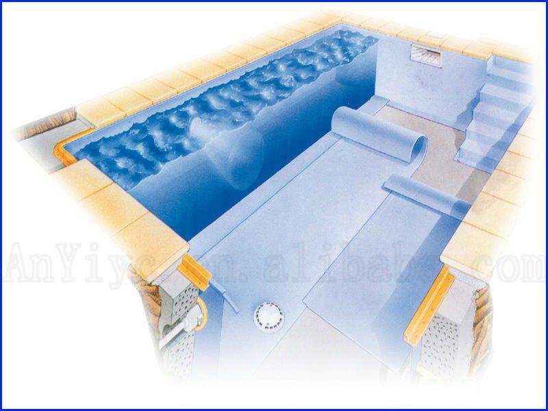 Durable Pvc Blue Mosaic Inground Swimming Pool Liner Buy Blue Swimming Pool Liner Blue Mosaic