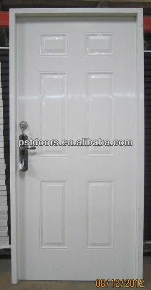 Interior And Exterior Hollow Metal Utility Door,Pre-hung Steel Door ...