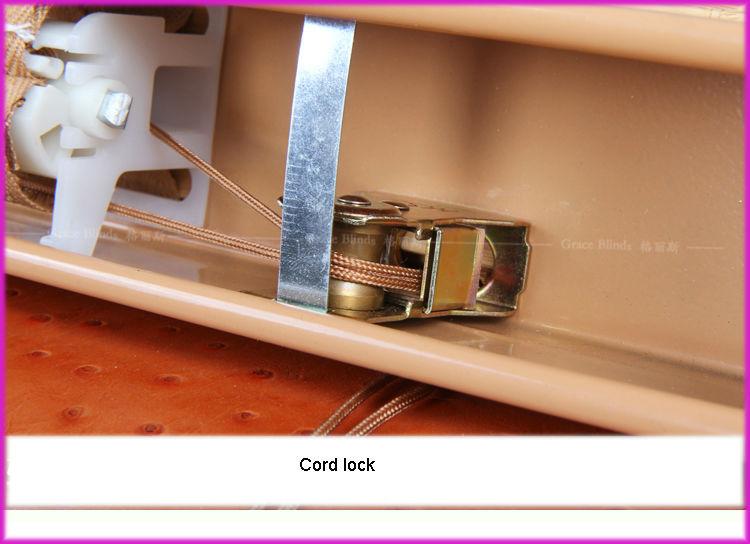 Cord Tilt High Profile Metal Headrail50mm Ladder String