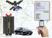 Coban Car/vehicle Gps Tracker Gps104 Tk104 60days Standby Built-in ...