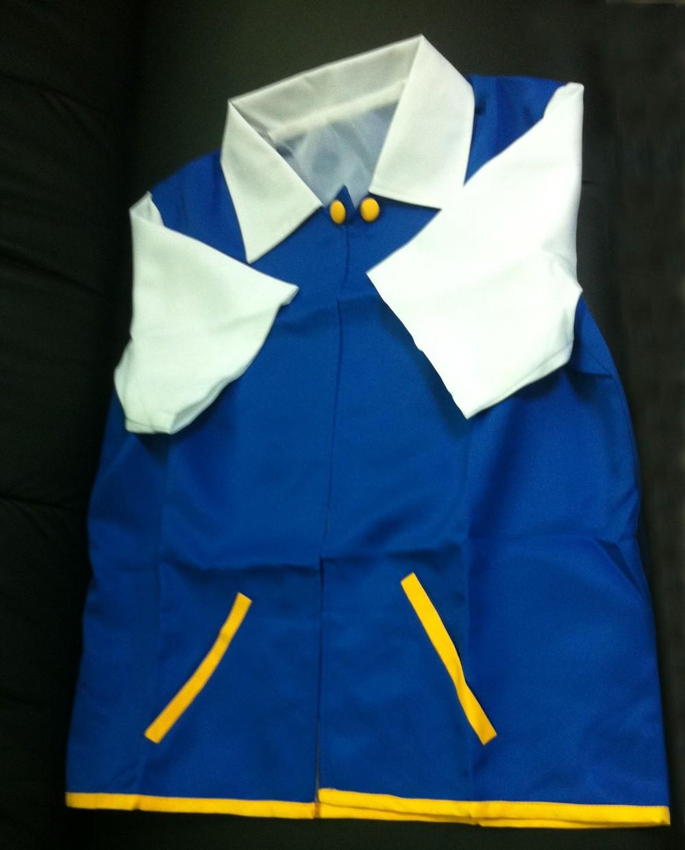 anime pokemon asche ketchum trainer kost m cosplay jacke pullover freizeit mantel in anime. Black Bedroom Furniture Sets. Home Design Ideas
