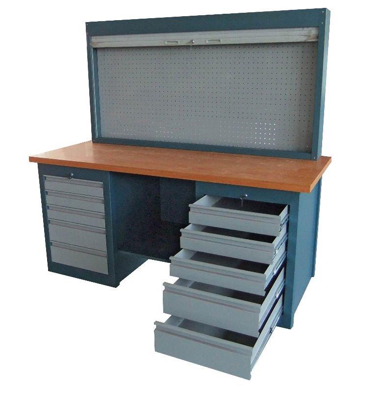 Metal Garage Workbench Steel Worktable