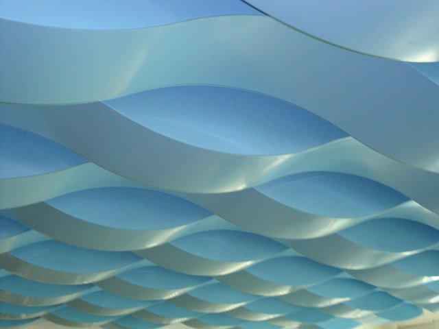 Perforated Suspend Ceiling Tiles False Decorative Ceiling