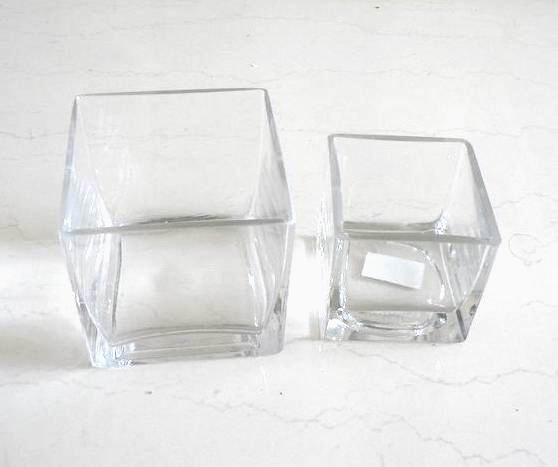 4 5 6 8 10 vaso cubo de vidro buy cubo vaso vaso for Ikea vasi vetro