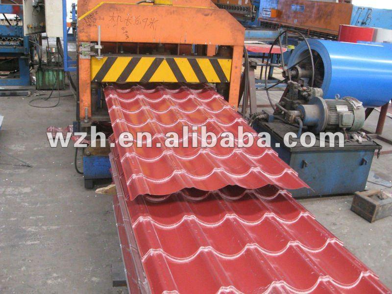 China Supplier Corrugated Roof Tile /steel Sheet Pile /22 Gauge ...