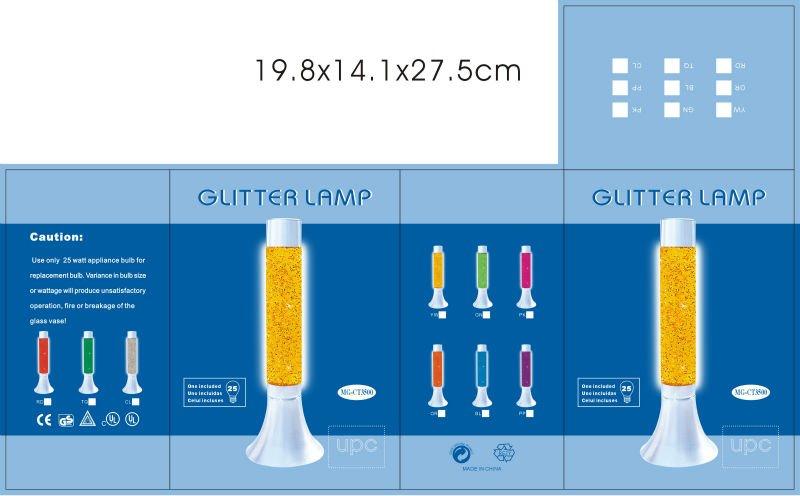 Mg Ct3500 Green Glitter Lamp Promotive Gift Buy