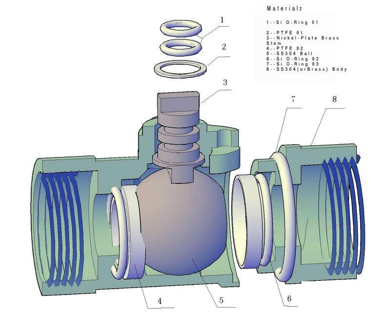 CWX25S 2 way motorized operated water ball valve 1/2\