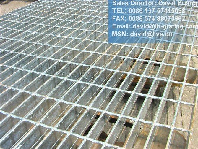 Galvanized Steel Bar Grating Galvanized Steel Grating