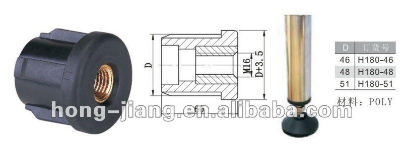 Plastica H180 Tappi Filettati Per Connessione Tasselli Ad Espansione