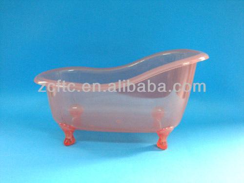 Vasca Da Bagno Plastica : Rosa trasparente mini vasca di plastica come regalo diverse forme
