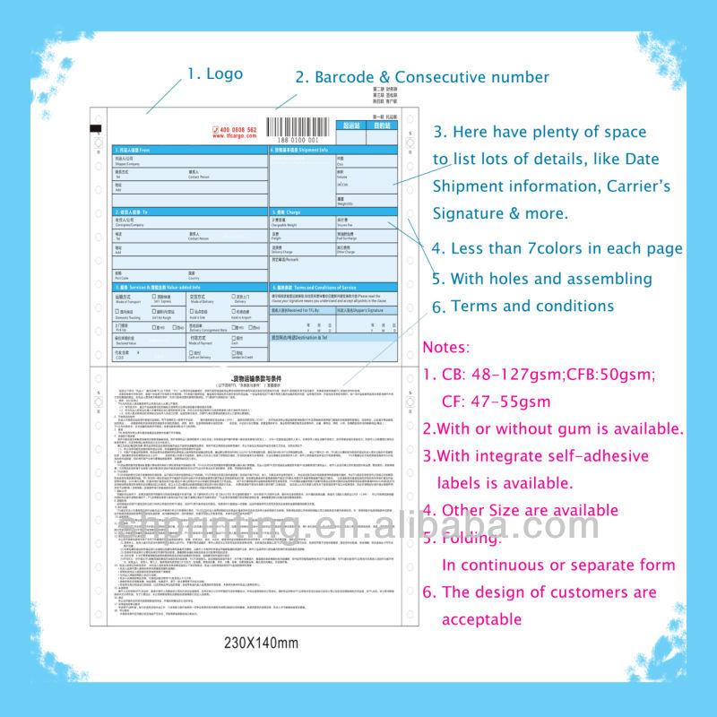 "9.5""x11"" 4-ply Computer Form Paper Dot Matrix Printer Paper White ..."