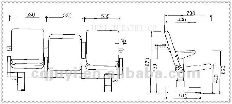 Theatre Floor Plan Top Quality Vip Folding Multifunctional