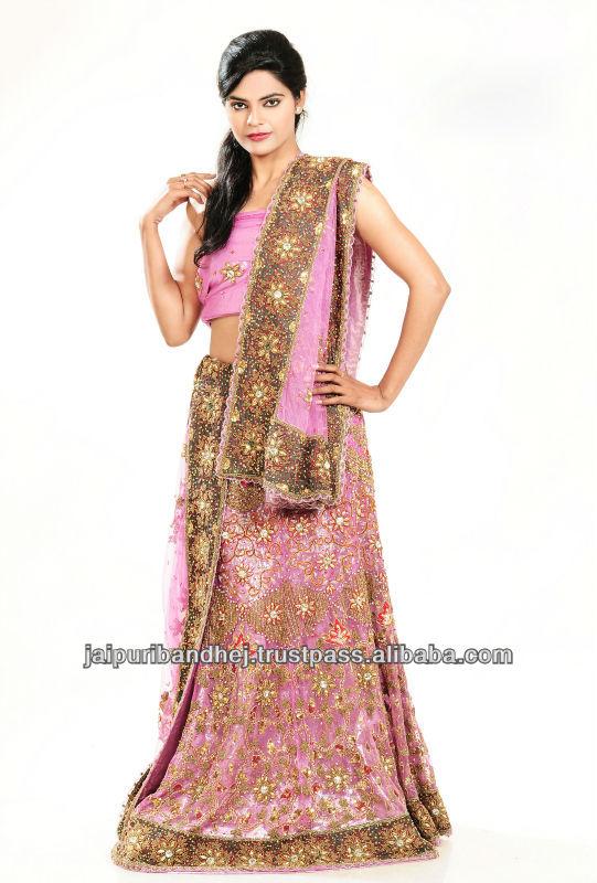 Indian Wedding Dresses Bridal Lehenga Choli Party Wear Dress Costume