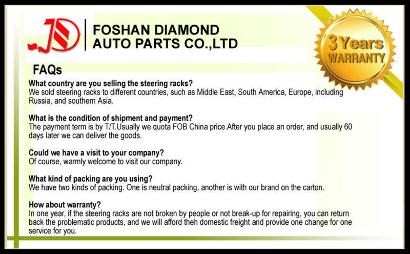 Auto Parts For Isuzu D-max 4x4 Oem 8-97943-519-0 Lhd Steering Box ...