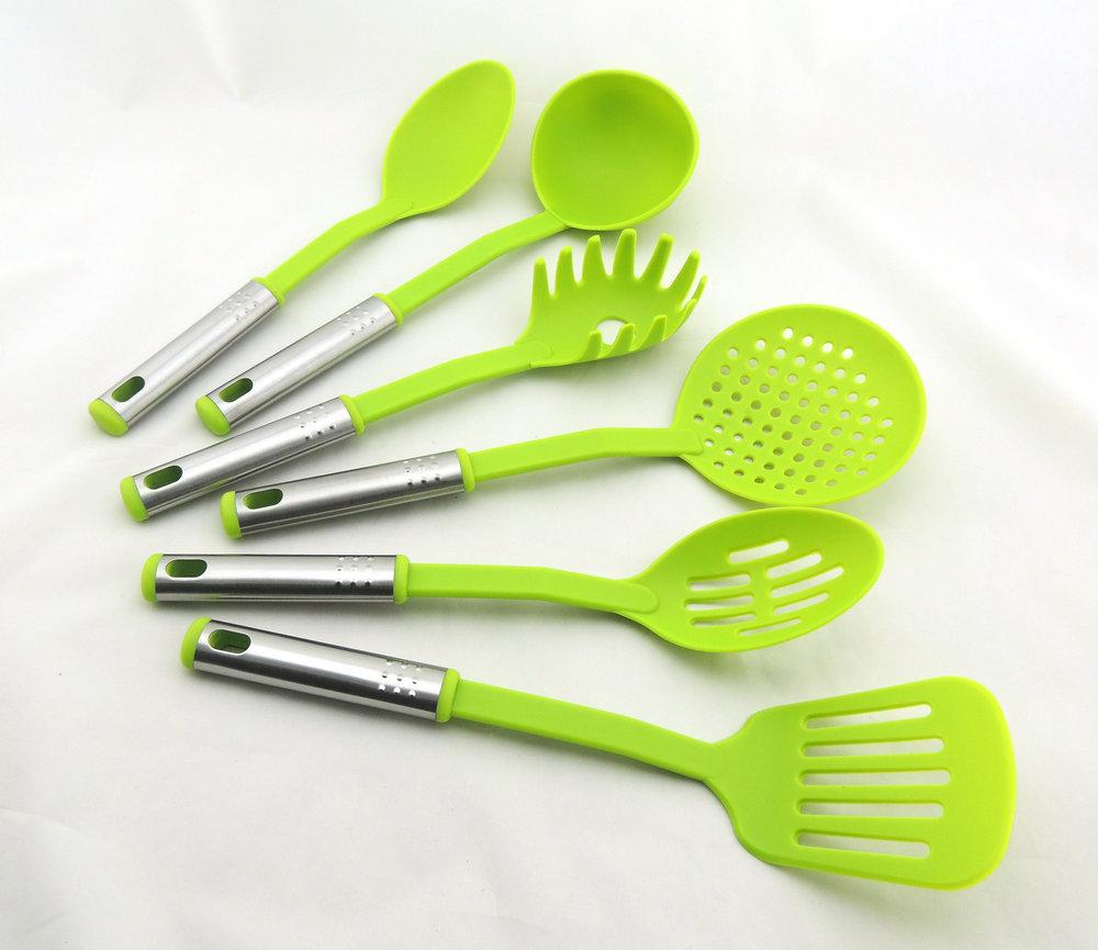 6pcs kitchen tool set nylon tools nylon set buy kitchen for Kitchen tool set of 6pcs sj