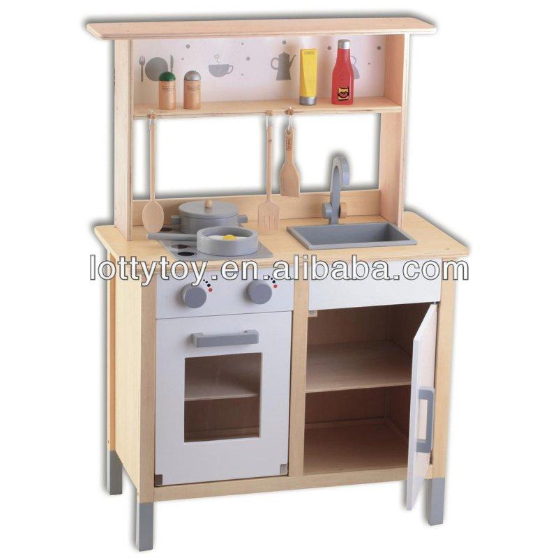 Hermoso cocina juguete madera im genes juego cocinita for Cocina infantil madera