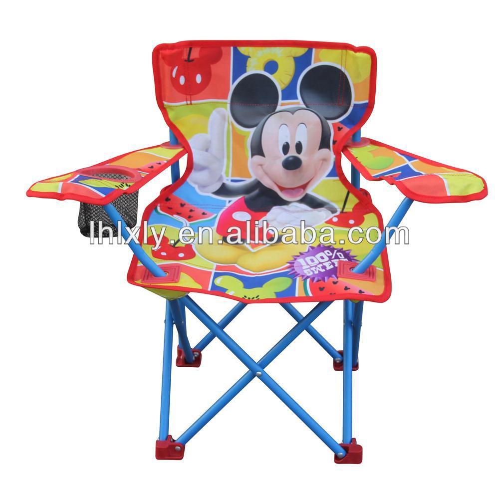 children kids folding chair mickey mouse design