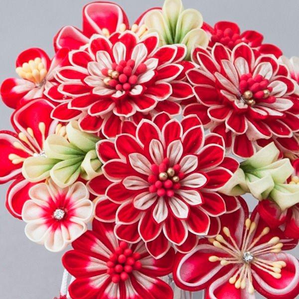 Kanzashi Flower Anese Tsumami 8151 In Box
