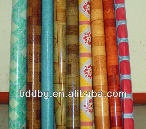 Factory supply cheap linoleum pvc floor covering rolls for Cheap lino floor covering