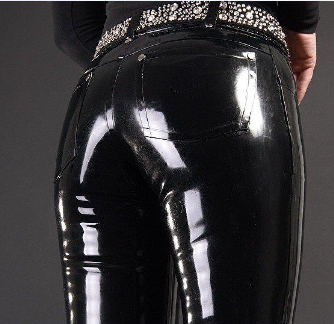 Попы в кожаных брюках — img 3
