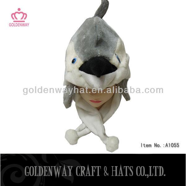 Dolphin Plush Winter Hat With Earflap Foam Animal Hats - Buy Foam ... 96d81caf7
