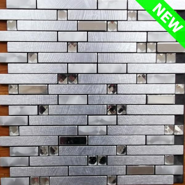 Adhésif Carreaux De Mur En Métal,Aluminium Carrelage Mosaïque,Bâton ...