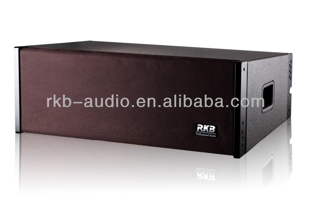 la-208) Dual 8 Inch Line Array Audio Speakers
