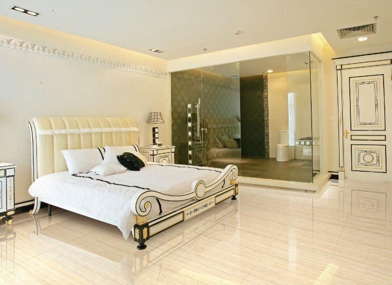 Nano Polished Porecelain Floor Tiles. ACS512060P 600X600 Bedroom