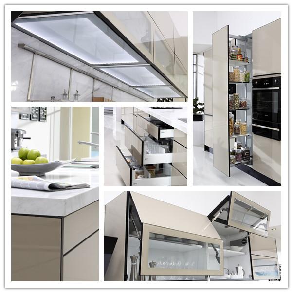 Modern Aluminium Kitchen Cabinet Design Malaysia