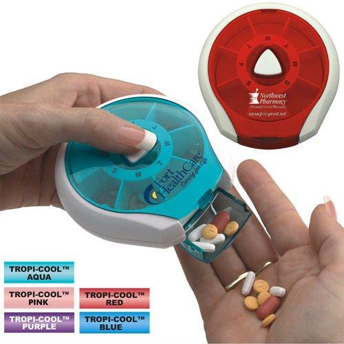 Plastic Pill Dispenser7days BoxPress it