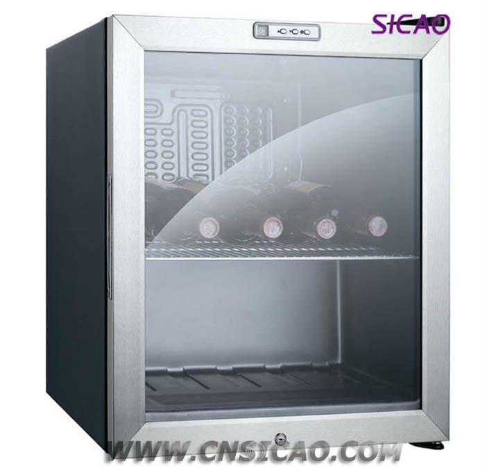 49 litri di vetro porta di raffreddamento frigo hotel mini for Mini frigo usato