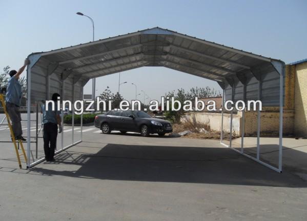 two car metal carport canopycar shelterportable car shelter & Two Car Metal Carport CanopyCar ShelterPortable Car Shelter ...