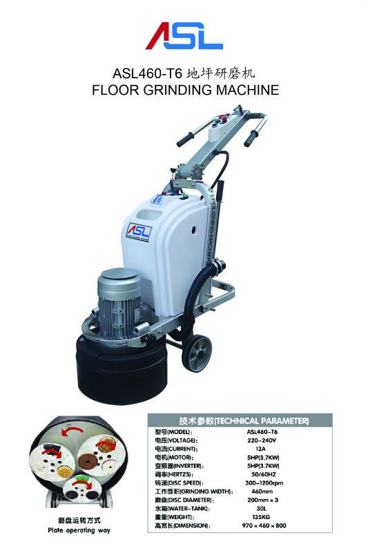 marble flooring polishing machine