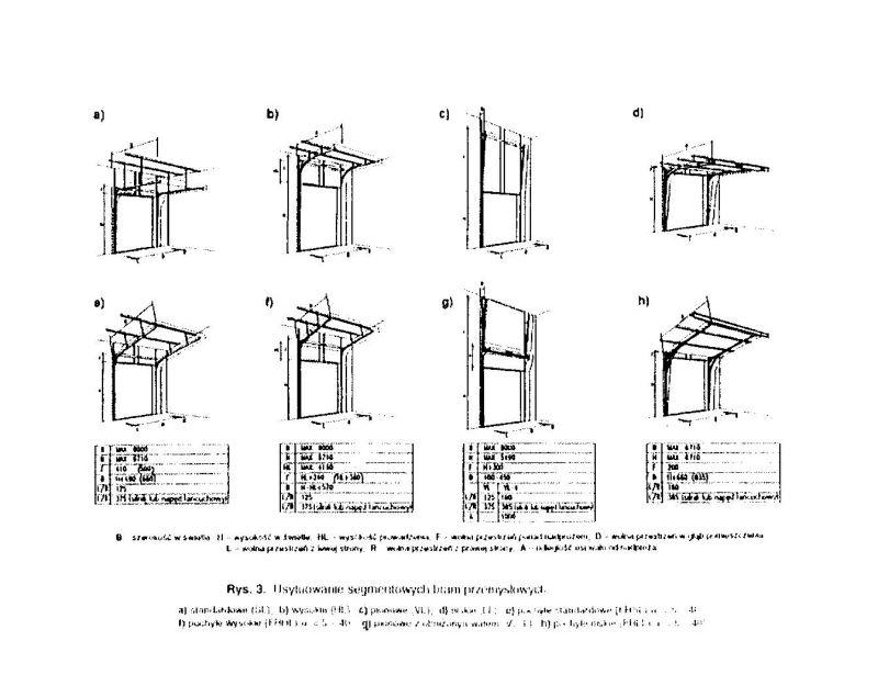 Commercial Garage Doors Vertical Lifting Door Factory Door