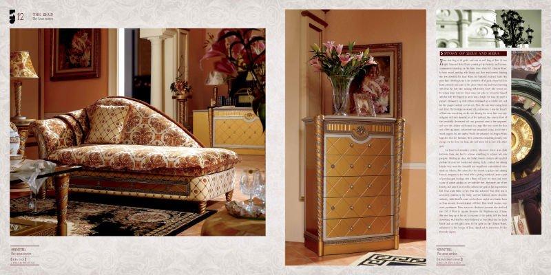 0016 Italienisches Design Aus Holz Hoher Qualität Möbel Klassisches Sofa,  Klassisches Sofa/zeitgenössischen Möbeln