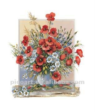 Pittura quadri a olio di fiori dipinti ad olio paesaggio for Quadri ad olio con fiori