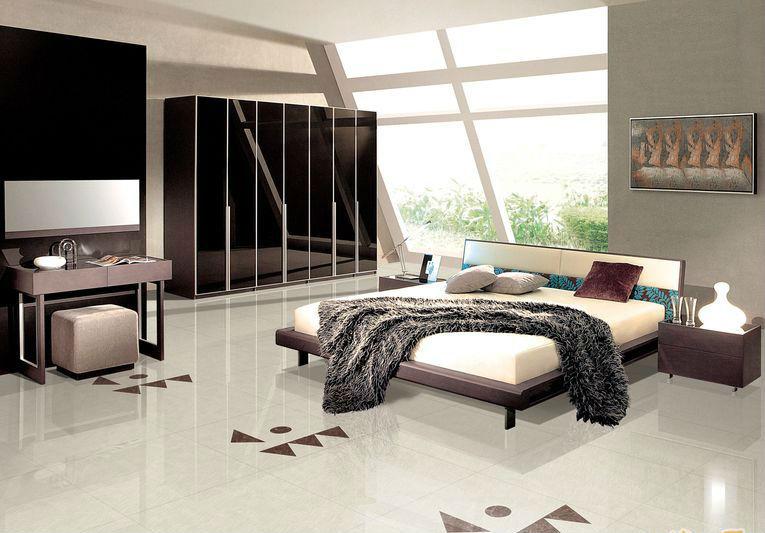 Ivory white soluble salt polished nano tile view nano for Pisos de ceramica para sala