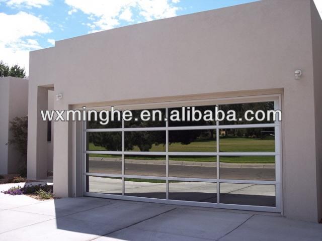 Sectional Glass Garage Door Of Mirror Glass Sectional Garage Door Buy Mirror Glass