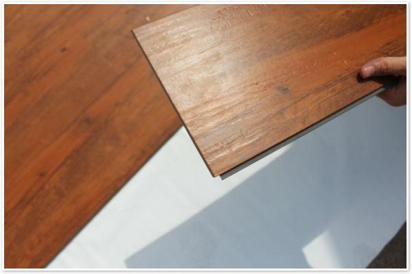 Houtstructuur luxe vinyl plank lvp lvt vinyl vloerbedekking pvc