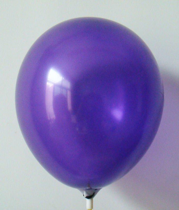 Inflate Latex Balloon Deep Purple Balloon