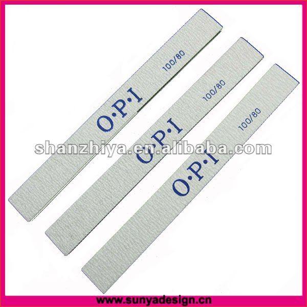 Custom Printed Nail File 80 / 80,100 / 180,180 / 240 Grit - Buy ...