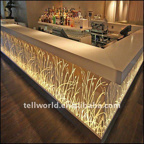 Modern bar counter design mini hotel bar counter home use for Mini bar counter for home
