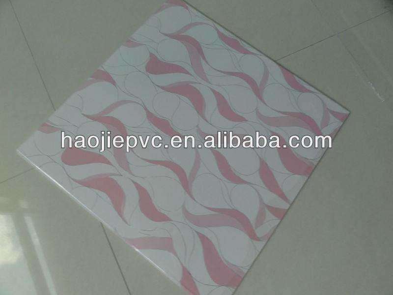 595x595x7mm internal pvc wall cladding panels bathroom wall panels pvc ceilings pvc rigid board panel sheet