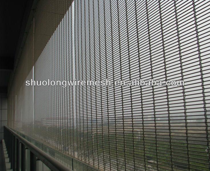Metal Screen Wall : Exterior decorative metal wall partition screen