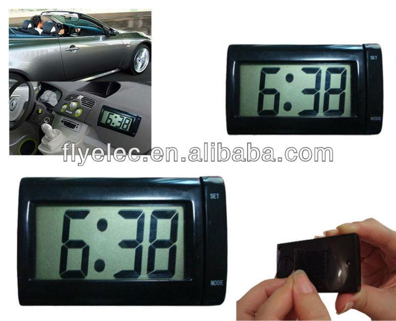mini lcd digital clock for car buy digital clock mini. Black Bedroom Furniture Sets. Home Design Ideas