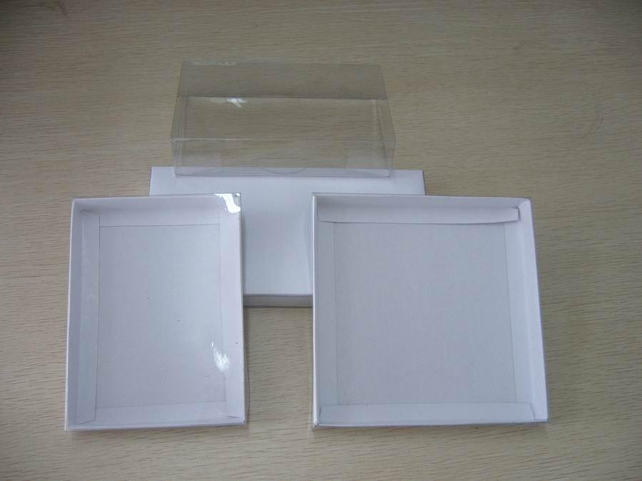 Paper Invitation Box With Pvc Lid Buy Paper Invitation