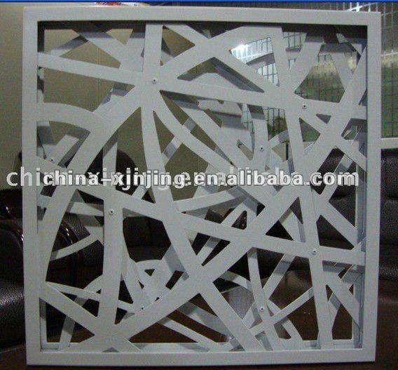 decorative perforated metal screen panelaluminum wall decoration iso9001ce - Decorative Metal Screen