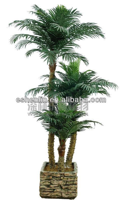 fake 3 trunk indoor artificial coconut trees coconut palm tree buy artificial coconut trees. Black Bedroom Furniture Sets. Home Design Ideas