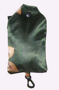 vest handle bag in satin,foldable shopping bag